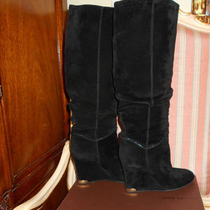 AUTHENTIC LOUIS VUITTON WEDGE BOOTS
